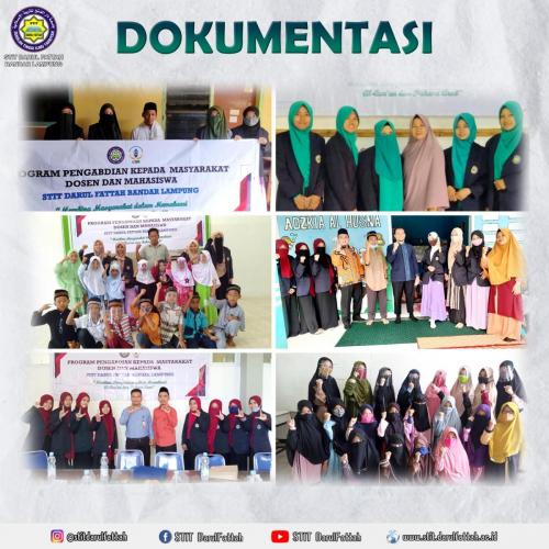 Pengabdian Masyarakat Antara Dosen dengan Mahasiswa