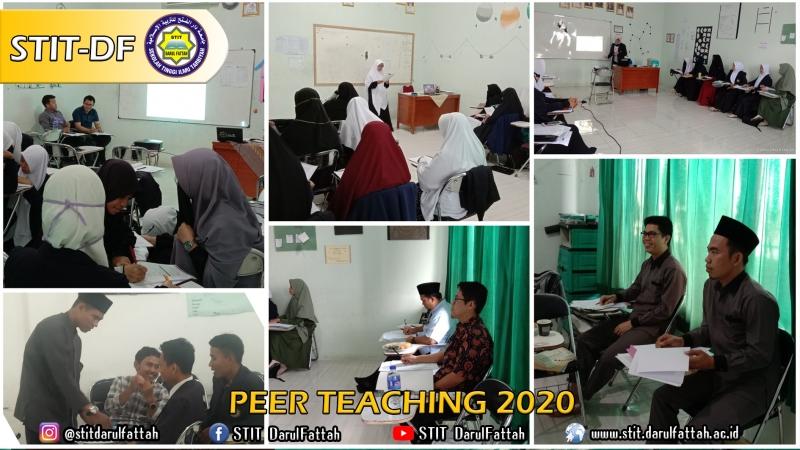 Peer Teaching Mahasiswa/i STIT DF 2020
